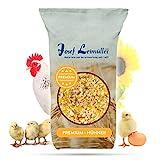 Leimüller Premium Hühnerfutter 25 Kg   Legemehl Alleinfutter für Legehennen GVO - Gentechnik frei   Erhöhte Legeleistung und Stabilere Eierschalen   Mehrfach gereinigt und staubfrei