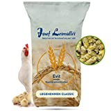 Leimüller Hühnerfutter gegen Milben 25kg - Legehennenfutter Pellets Classic | Alleinfuttermittel für Legehennen | für erhöhte Legeleistung | ohne Gentechnik | hergestellt in Österreich
