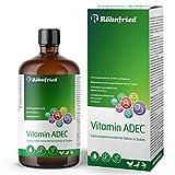 Röhnfried Vitamin ADEC 100 ml | Vitaminkonzentrat | Futterergänzungsmittel für die Vitaminversorgung von Hühnern, Tauben & Geflügel