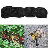 Yaheetech 15x15m Vogelschutznetz Teichnetz Katzennetz Netz zum Schutz vor Vögeln Maschenweite 60mm