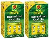 Compo Rasenunkraut-Vernichter Banvel Quattro, Bekämpfung von schwerbekämpfbaren Unkräutern im Rasen, Konzentrat, 800 ml (800 m²)