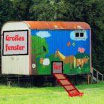 Mobiler Hühnerstall Bauwagen